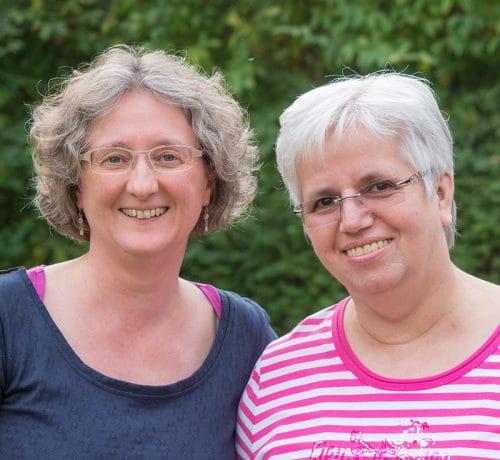 Elisabeth Kommer und Silvia Struck